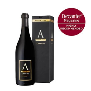 'A' Amarone Highly Recommended, Decanter, May 2017